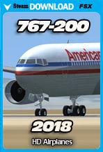 Boeing 767-200 v2018 (FSX)
