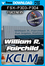 William R. Fairchild International Airport (KCLM)