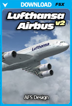 Lufthansa Airbus v2 (FSX)