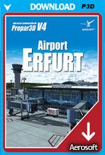 Airport Erfurt for P3D