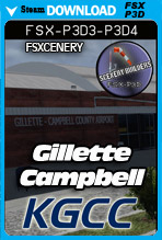 Gillette–Campbell County Airport (KGCC)