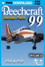 Beechcraft 99 Series Pack (FSX/P3D)