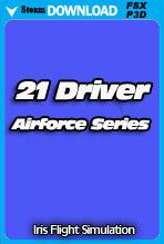 IRIS - Airforce Series - 21 Driver (FSX/P3D)