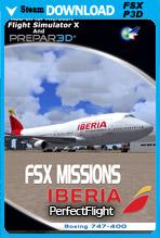FSX Missions - Iberia B747-400 (FSX/P3D)