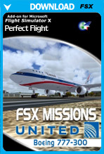 FSX Missions United B777-300