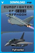 Eurofighter EF-2000 Typhoon V2 (P3D v4)
