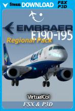 Embraer 190-195 Regional Pack