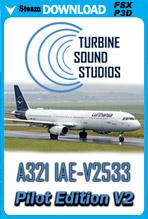 Airbus 321 IAE-V2533 Pilot Edition v2 Sound Package