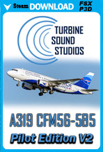 Airbus 319 Pilot Edition v2 Sound Package