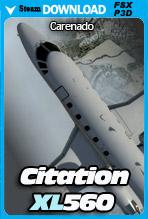 Carenado XL560 Citation (FSX/P3D)