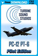 Pilatus PC-12 PT-6 Sound Package (FSX/P3D)