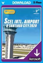 SCEL Intl Airport & Santiago City 2020 XP (X-Plane 11)