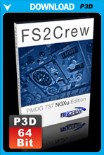 FS2Crew: PMDG 737 NGX-U (Voice and Button Control) P3D