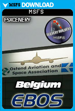 Ostend Bruges International Airport (EBOS) MSFS