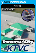 Traverse City Airport (KTVC) MSFS
