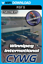 Winnipeg International Airport (CYWG) MSFS