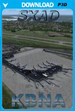 Nashville International Airport (KBNA) P3D