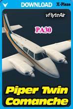 Piper PA30 Twin Comanche (X-Plane)