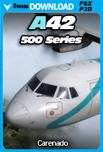 Carenado - A42 500 Series (FSX/P3D)