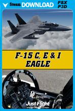 F-15 C, E & I Eagle (P3D v1-v3 & FSX)