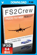 FS2Crew: PMDG 737 NGX Reboot (P3D V4 only)