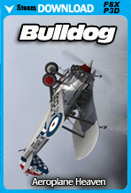Bristol Bulldog MK IIA (FSX/P3D)