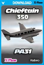 Alabeo PA31 Chieftain 350 (X-Plane)