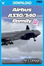 Airbus A330/340 Family X v2 (FSX)
