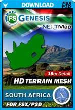 FSGenesis - NEXTMap South Africa Terrain Mesh