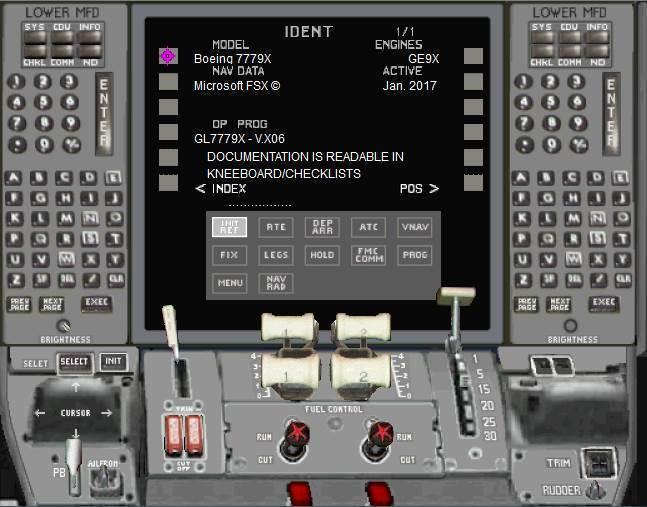 Boeing 777 Panel v6 for P3D