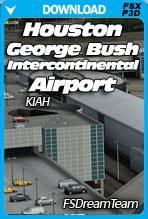 Houston George Bush Intercontinental Airport for FSX-P3D