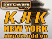 KJFK New York International Airport Add-On for Tower! 2011