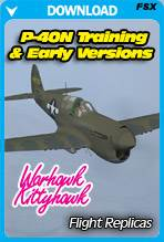Curtiss P-40N Warhawk / KittyHawk IV Early, Mid-Production & Training Version
