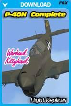 Curtiss P-40N Warhawk / KittyHawk IV Complete Package
