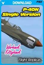 Curtiss P-40N Warhawk / KittyHawk IV - Single Version