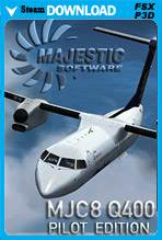 Majestic Software Dash 8 Q400 Pilot Edition 64-Bit (P3D)