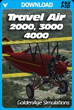 Travel Air 2000/3000/4000 for FSX and P3D