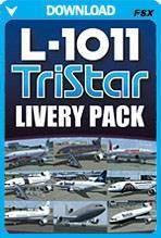 L-1011 TriStar Livery Pack (FSX)