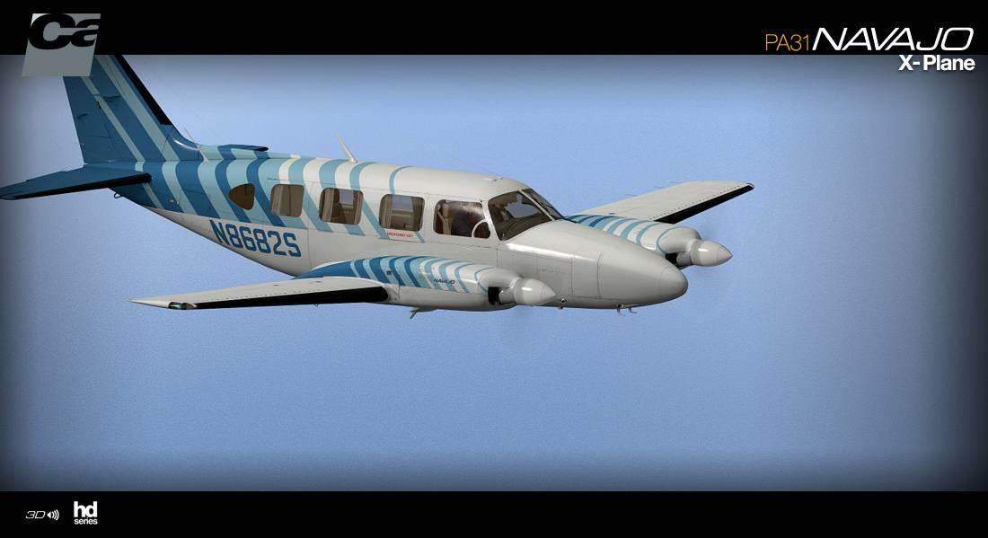 Carenado PA31 Navajo HD Series for X-Plane
