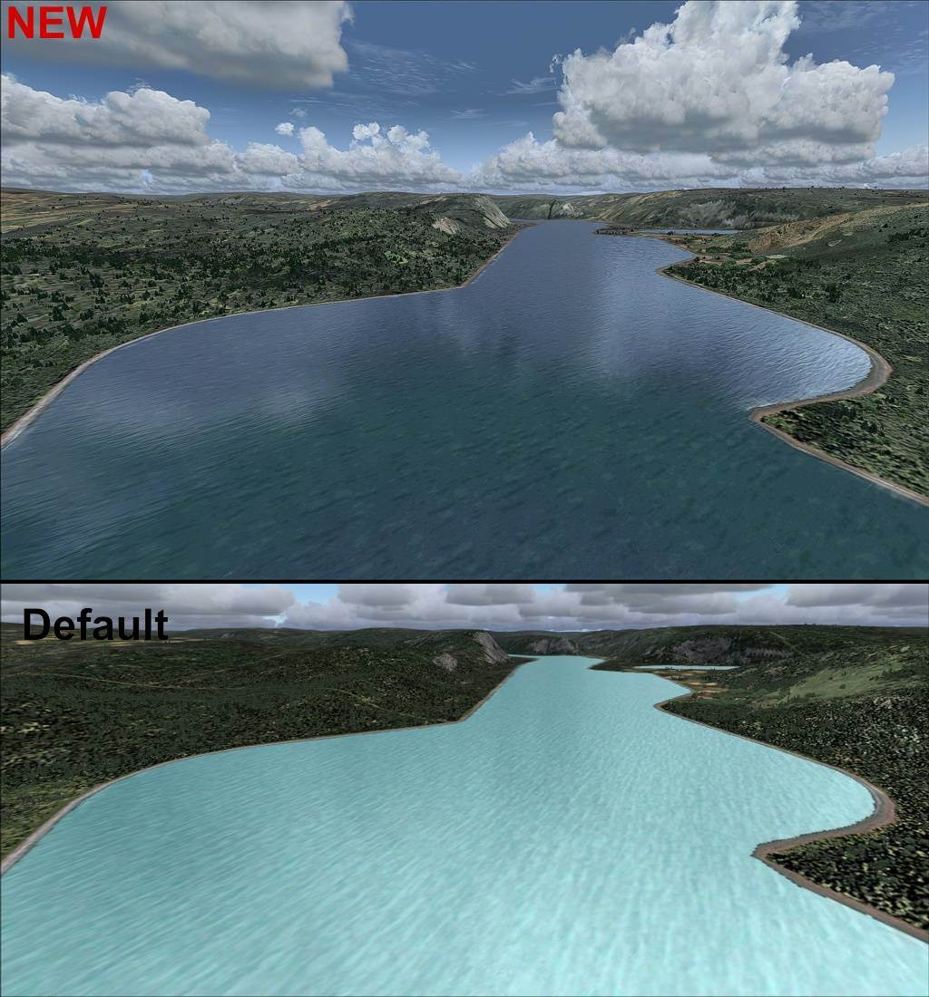 Water & Clouds v3 for FS2004