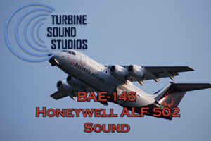 BAE-146 ALF 502 soundpack for FS2004