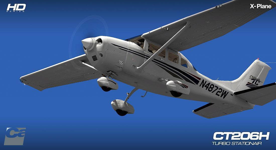 CT206H Staionair HD Series for X-Plane