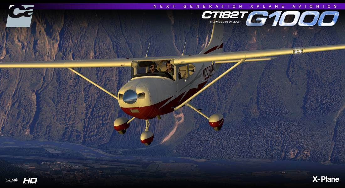 Carenado CT182T Skylane G1000 HD Series (X-Plane)