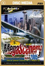 MegaScenery USA: Pacific Northwest - LITE (FS2004)