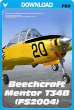 Beechcraft Mentor T34B (FS2004)