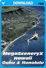 MegaSceneryX: Hawaii - Honolulu & The Island Of Oahu (FSX)