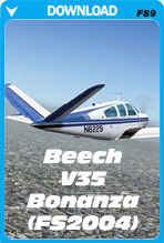 Beech V35 Bonanaza - V-Tail (FS2004)