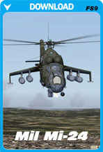 Mil Mi-24 Helicopter