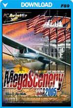 MegaScenery USA: Washington DC, Baltimore, Mid Atlantic Region (FS2004)