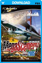 MegaScenery USA: Northern California V2 (FS2004)